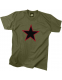 "Футболка Rothco ""Red Star"" T-Shirt Olive"