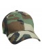 Бейсболка Rothco Military Supreme Low Profile Cap Woodland